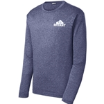 BRY133<br>Long Sleeved Heather Contender Tee